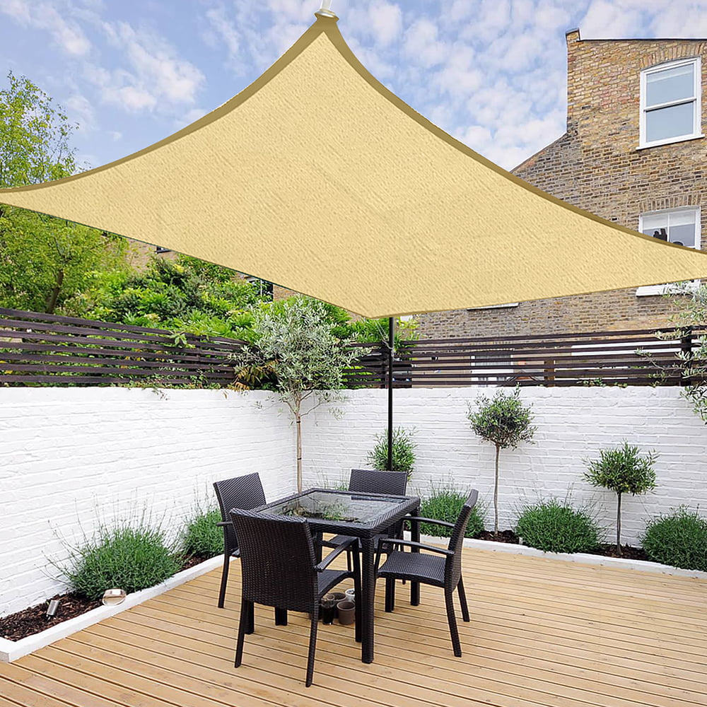 Rectangle Sun Shade Sail Uv Blocking