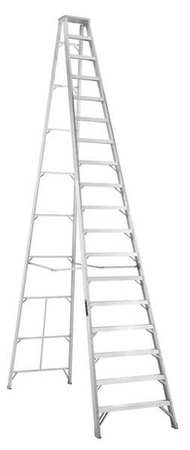 Louisville Ladder As1018 18 Ft Aluminum Step Ladder Type Ia 300 Lbs Load Capacity Walmart Com