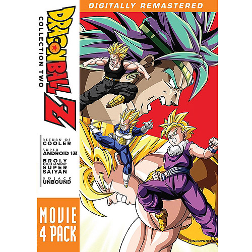DRAGON BALL Z-MOVIE PACK #2-MOVIES 6-9 (DVD) (4DISCS) (DVD) by Funimation