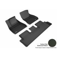 3D MAXpider TESLA MODEL 3 2018 KAGU BLACK R1 R2