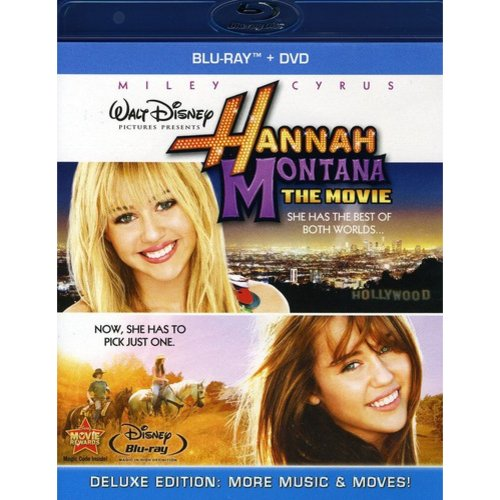 Hannah Montana: The Movie (Blu-ray + DVD)    (Widescreen)