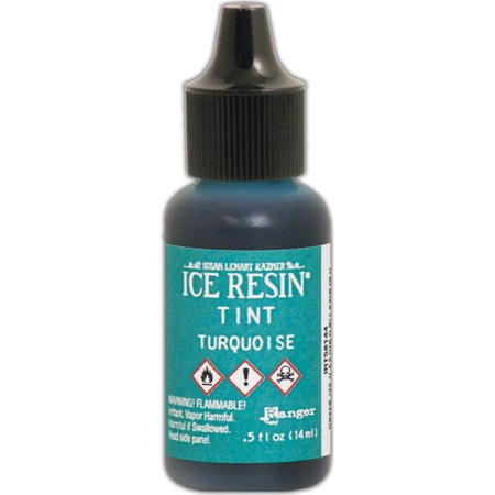 - Ice Resin Tints .5oz Turquoise