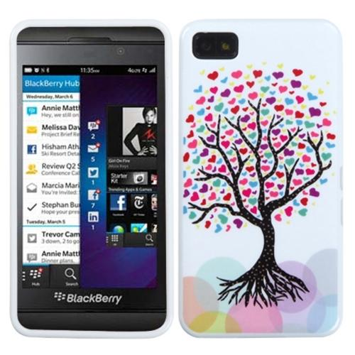 Insten Love Tree Candy Skin Case for BLACKBERRY: Z10