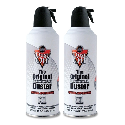 Falcon Safety Special Application Duster, Two 10oz Cans per Pack