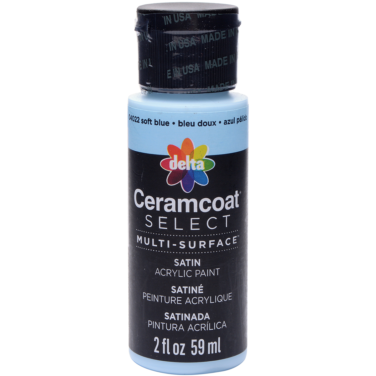 Ceramcoat Select Multi-Surface Paint 2oz-Soft Blue