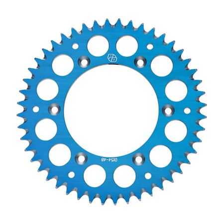 Aluminum Road Sprocket (Primary Drive Rear Aluminum Sprocket 48 Tooth Blue for Husaberg FE 570 2009-2012 )