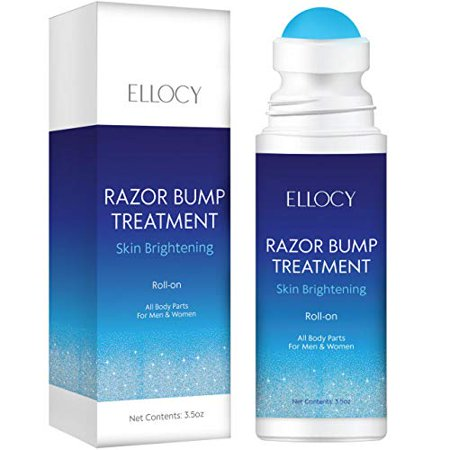 ellocy Razor Bump Stopper-After Shave, Dark Spot Solution Roll-On for face and body, Men and Women, Ingrown Hairs, Razor Burns, Skin Lightening - image 4 de 4