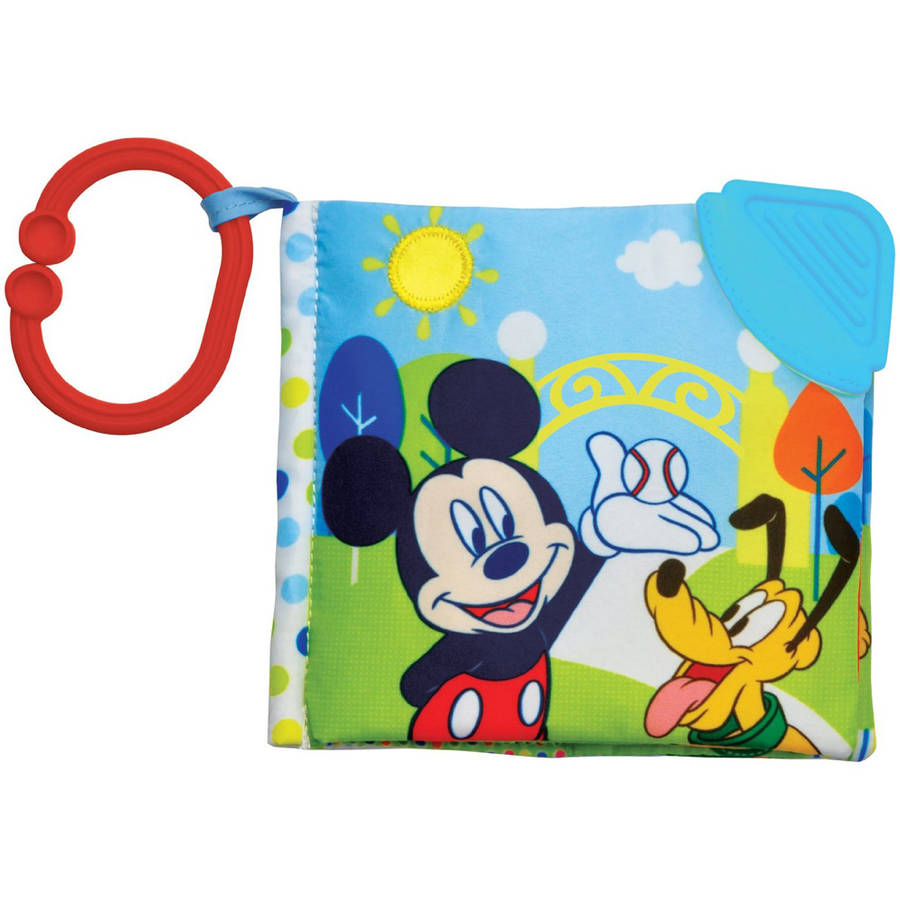"Kids Preferred Disney Baby Mickey Mouse ""At the Park"" Soft Book by Kids Preferred"