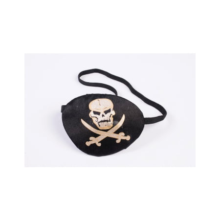 Halloween Pirate Eye Patch With Printing](Eye Missing Halloween)