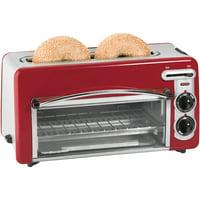 Hamilton Beach Toastation 2-in-1 2 Slice Toaster & Oven In Red | Model# 22703