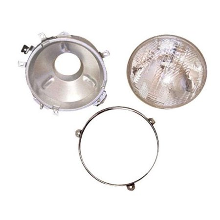 Omix-ADA 12402.01 Headlight Assembly With Bulb, 76-86 Jeep CJ Models - image 1 of 1