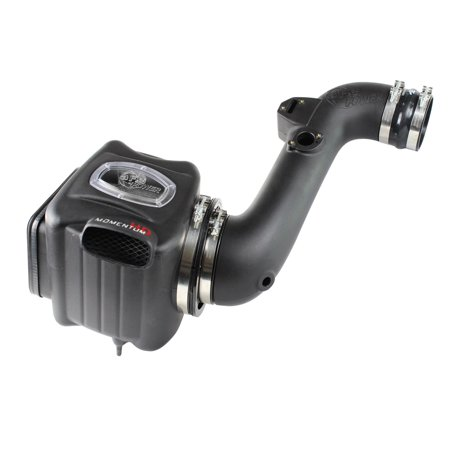 aFe Power 51-74006-1 Momentum HD Pro DRY S Air Intake System; Incl. Air Filter/1-Piece Sealed Housing w/Air Scoop/Sight Window/Roto-Molded Intake Tube/Hardware;