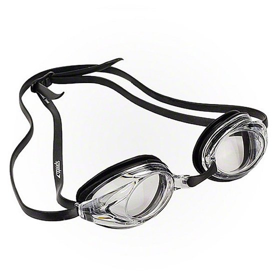 886194707dc Speedo Vanquisher Optical Competition Swim Swimming Goggles Clear Diopter - 5.5 - Walmart.com