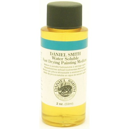 Daniel Smith Water-Soluble Oil Fast Drying Painting Medium, 2 oz.