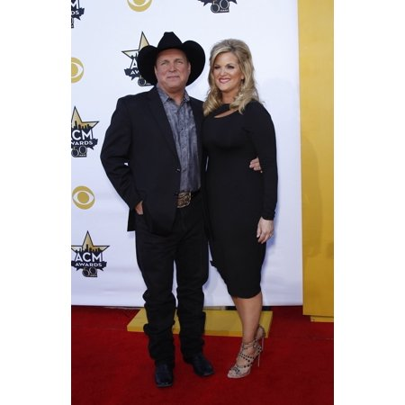 Garth Brooks  Trisha Yearwood At Arrivals For 50Th Academy Of Country Music (Acm) Awards 2015 - Part 2  Arlington - Academy Awards Theme