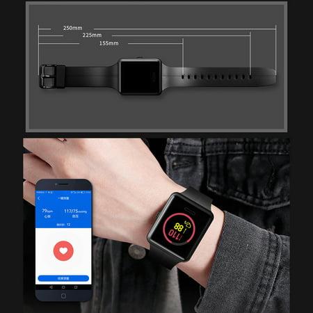 SKMEI 1525 Montre intelligente BT 4.0 Cardiofréquencemètre..