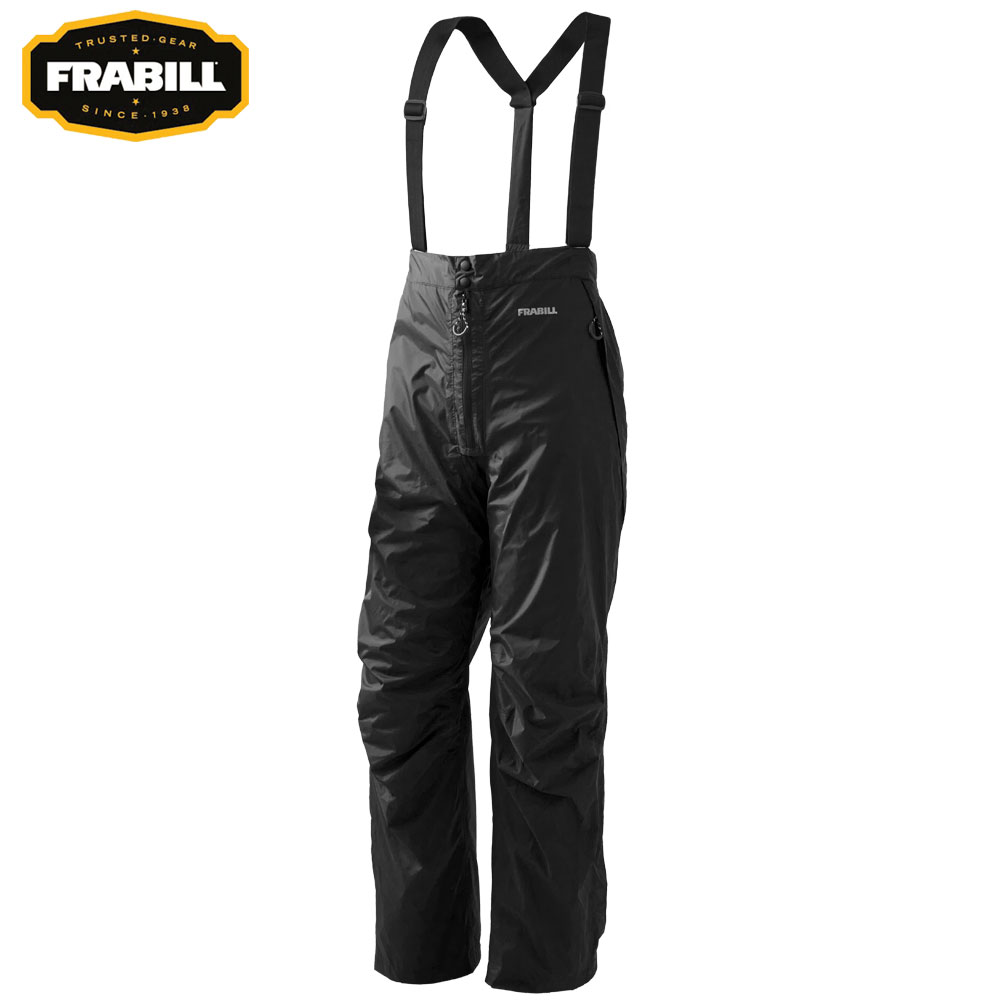 Frabill Stow Series Pants (L)- Black