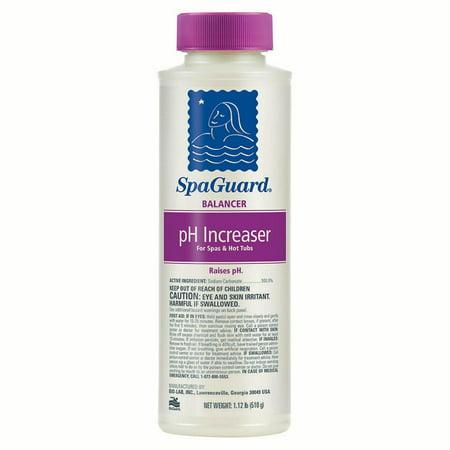 Ph Increaser - SpaGuard Spa pH Increaser - 18 Oz