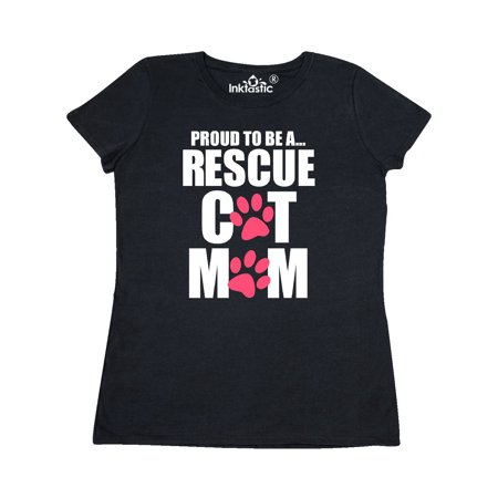Proud To Be a Rescue Cat Mom Women's T-Shirt](Soccer Mom Costume)