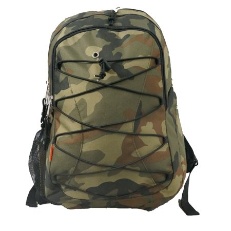 19 Backpack School Bag Day Pack Book Bag Camo