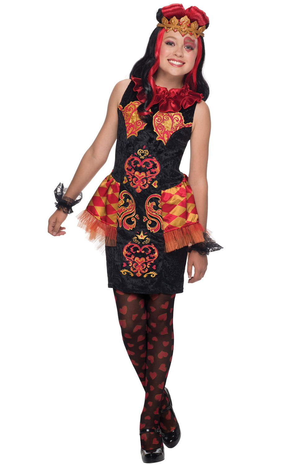 lizzie hearts child costume walmartcom