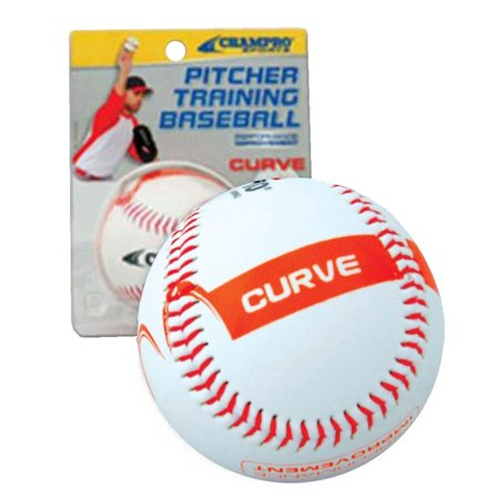 CHAMPRO SPORTS Baseball Pitcher Training Ball, Develop Your CURVE Ball (The Best Pitcher In Baseball)