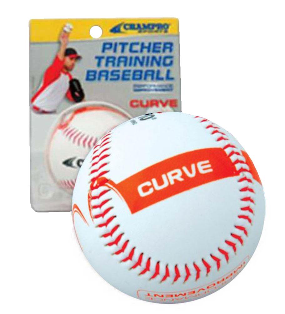 CHAMPRO SPORTS Baseball Pitcher Training Ball, Develop Your CURVE Ball CBB821