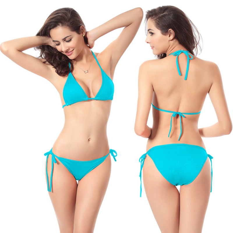 Sexy Women Swimsuit Micro Bikinis Set Bathing Suits With ...