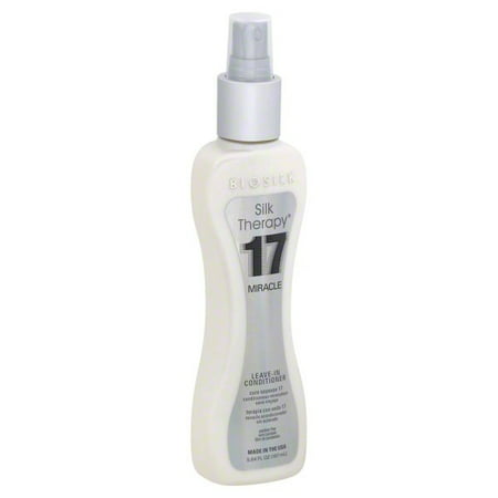 Silky Leave (BioSilk Silk Therapy, 17 Miracle Leave -In Conditioner 5.64 Oz)
