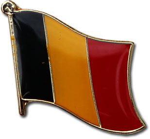 Belgium Flag Lapel Pin