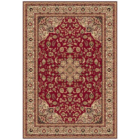 Dynamic Rugs Shiraz 51010 Medallion Persian Rug Red 7 10 X 10 10 Ft Walmart Com