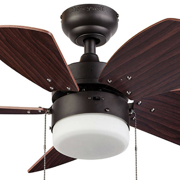 30 honeywell lenox ceiling fan bronze walmart 30 honeywell lenox ceiling fan bronze image 2 aloadofball Images