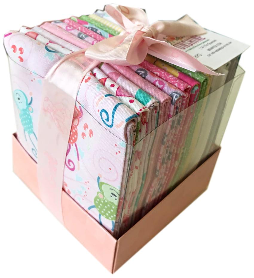 Benartex My Little Sunshine Girl Fat Quarter Bundle Box 14 Precut Fabric Quilting FQs Cherry Guidry FQGIRBX