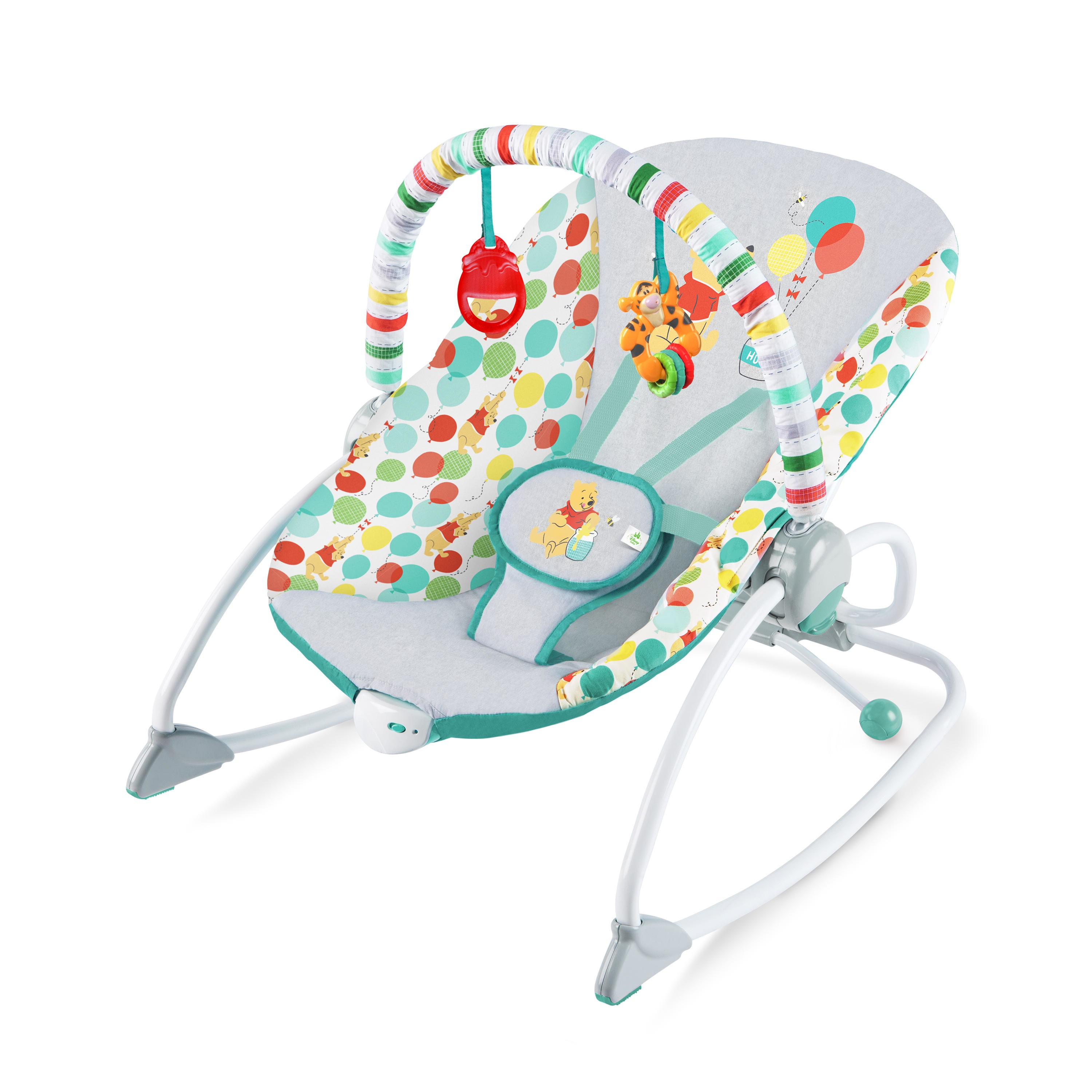 Disney Baby Winnie The Pooh Happy As Can Bee Infant To Toddler Rocker From Bright Starts