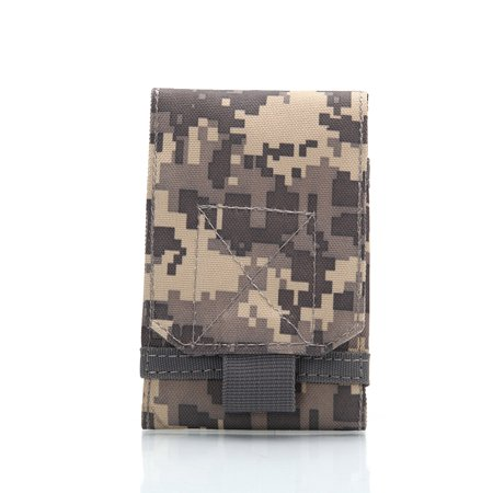 Outdoor Tactical Holster MOLLE Army Camo Camouflage Bag Hook Loop Belt Pouch Holster Cover
