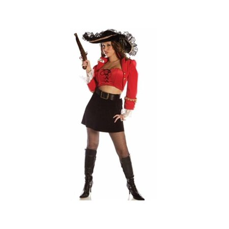 Women's Sexy Captain Ruby (Women's Sexy Captain's Wench Costumes)