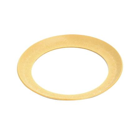 68mmx49mmx0.8mm Air Compressor Compression Piston Ring Yellow Piston Compression Rings