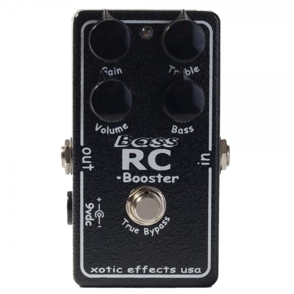 Xotic Effects Bass RC Booster Bass Guitar Pedal by Xotic Effects