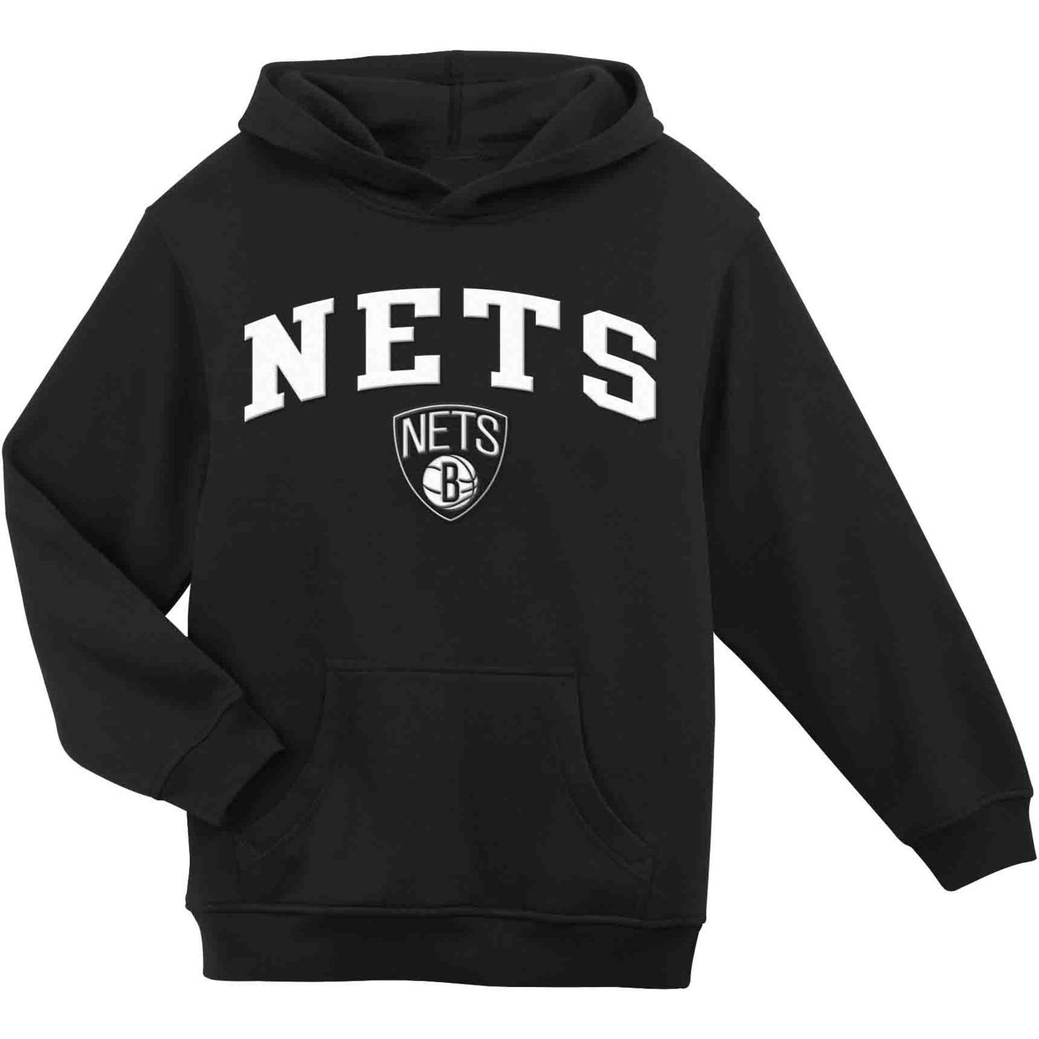 NBA Brooklyn Nets Youth Team Hooded Fleece