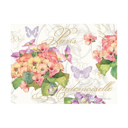 Primrose Mademoiselle Print Wall Art By Julie Paton ()