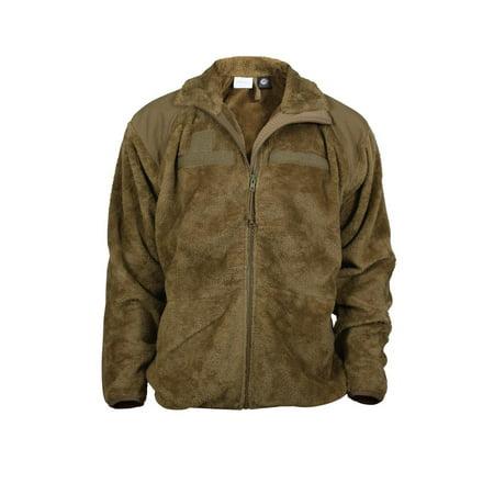 Rothco - ECWCS Coyote Tan Gen III Polar Fleece Jacket Liner - Walmart.com 020a23b9833