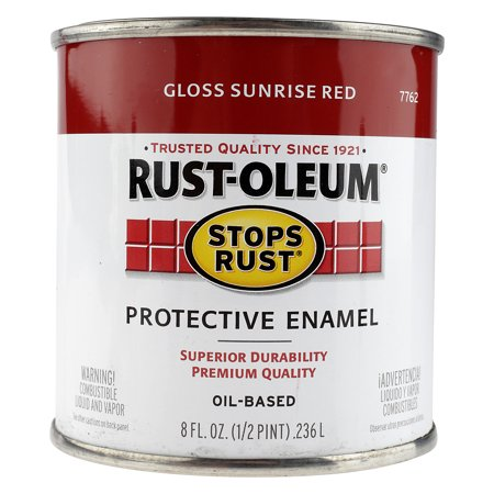 RustOleum Protective Enamel Oil Based Gloss Sunrise