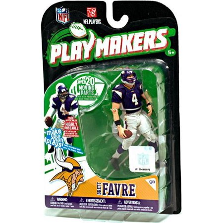 McFarlane NFL Playmakers Series 1 Brett Favre Action Figure