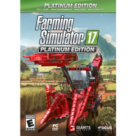 MAXIMUM GAMES Farming Simulator 17 Platinum Edition (PC)