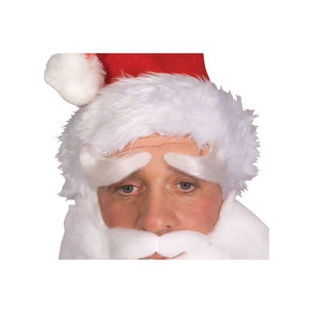 Santa Eyebrows Adult Halloween Accessory