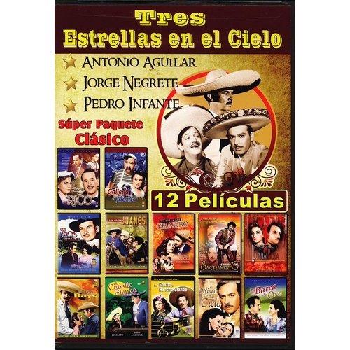 Tres Estrellas En El Cielo (12 Peliculas) (Spanish)
