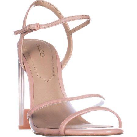3658c8bcd67 ALDO - Womens Aldo Camylla Ankle Strap Block Heel Dress Sandals - Light  Pink - Walmart.com