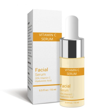 5ml Vitamin C Essential Oil Six Peptides 24K Gold/Hyaluronic Acid Serum Anti-Aging Moisturizing Face Skin Care