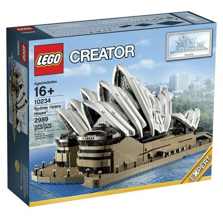 LEGO Creator Expert 10234 Sydney Opera House (Building A Masterpiece The Sydney Opera House)