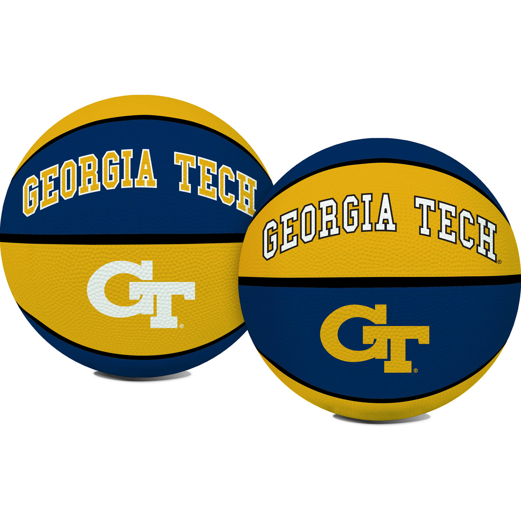 Rawlings NCAA Crossover Full Size Basketball Georgia Tech Yellow Jackets